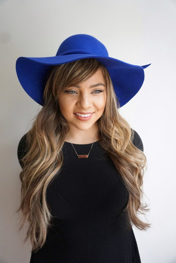 Hairstyles for Hats   Faux Bangs