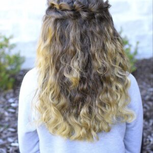 Puffed Loop Braid | Boho Hairstyles