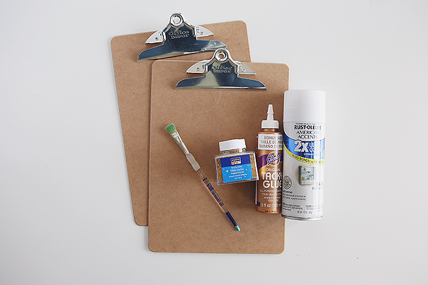 Clipboard Wall Display | supplies