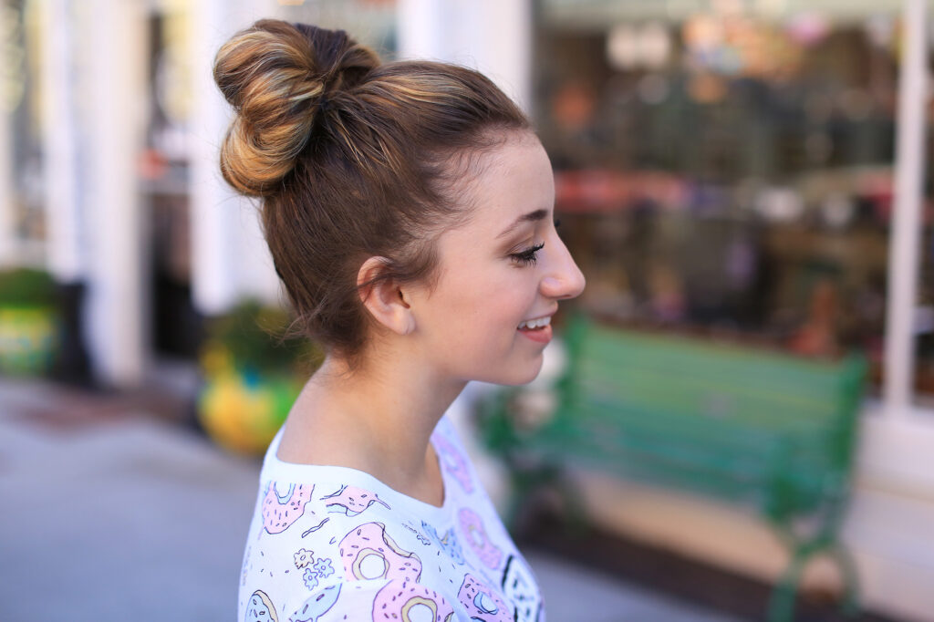 Double Fan Bun | Easy Hairstyles