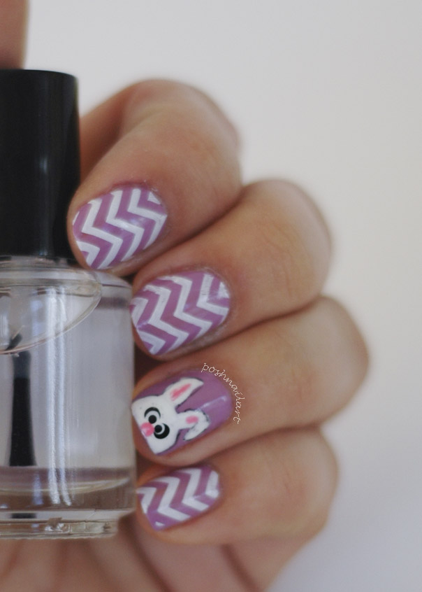 East  Bunny Nails | Chevron