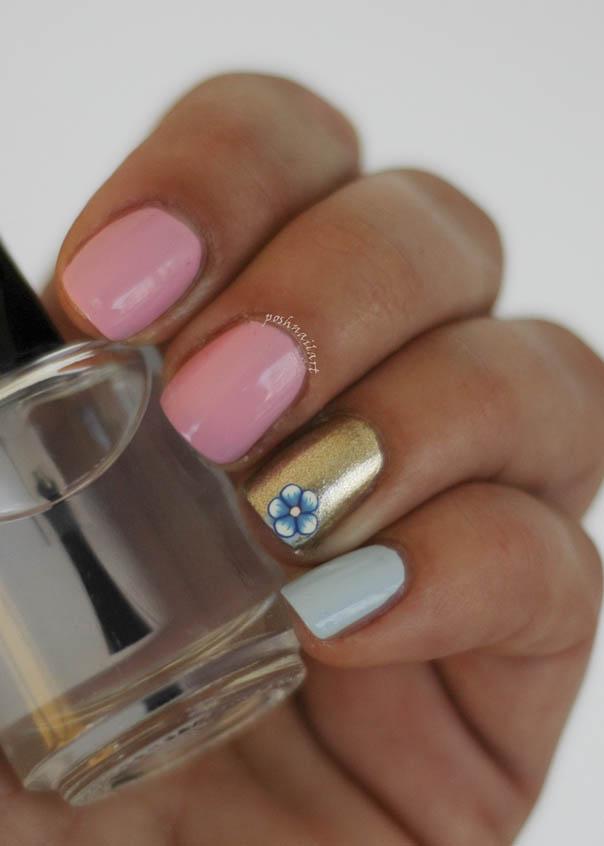 Spring Manicure | Flower