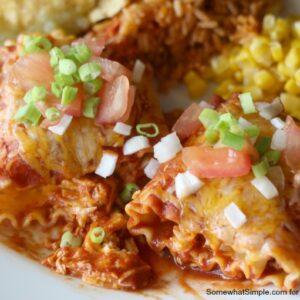 Enchilada Lasagna Rolls