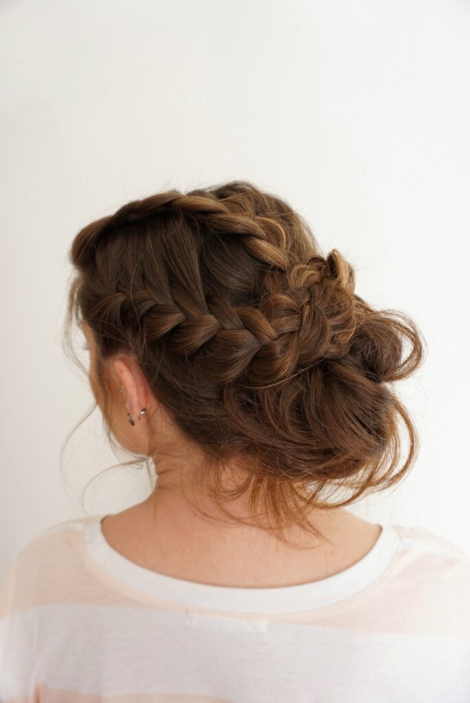 Romantic Updo | Braid