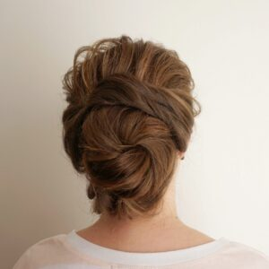 Romantic Updo | Textured Bun