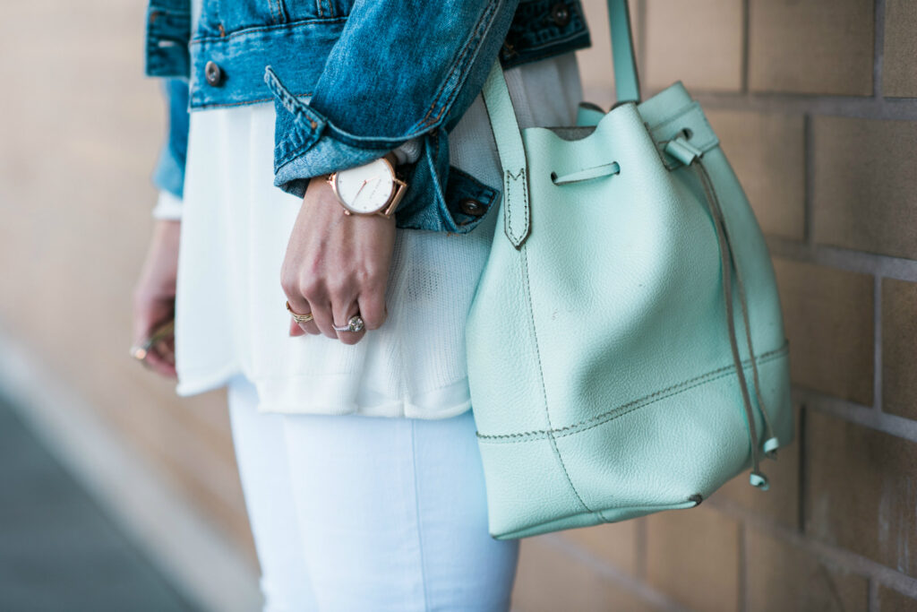 Mint Bucket Bag | Spring Purse