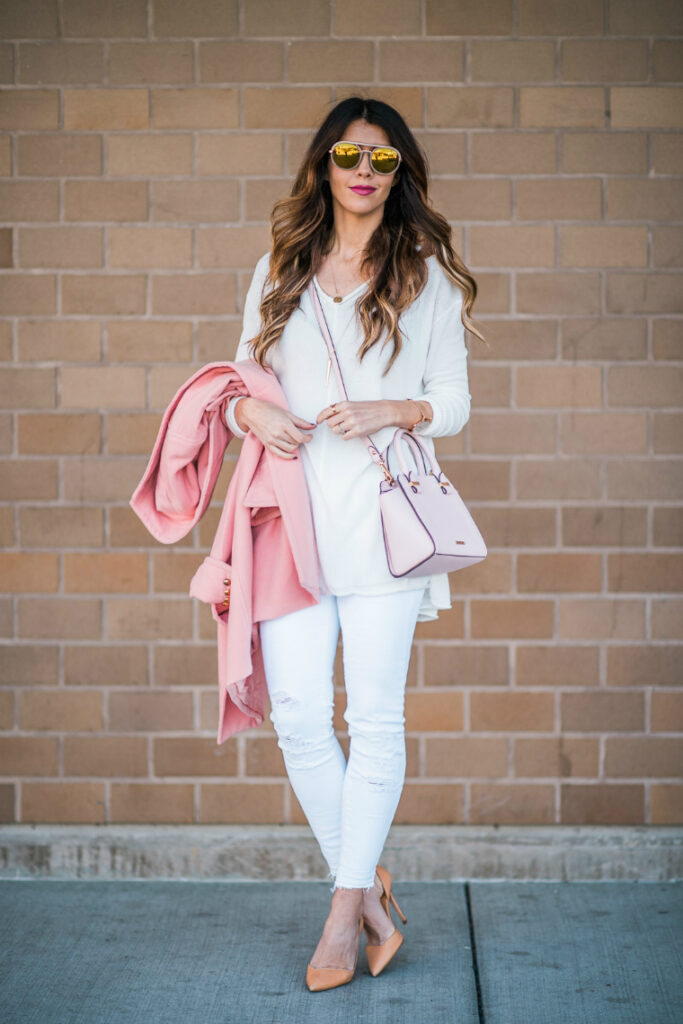 White & Pink | Spring Fashion