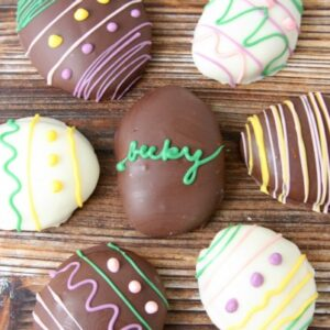 Peanut Butter Cookie Dough Easter Eggs Truffles | Easter Treat