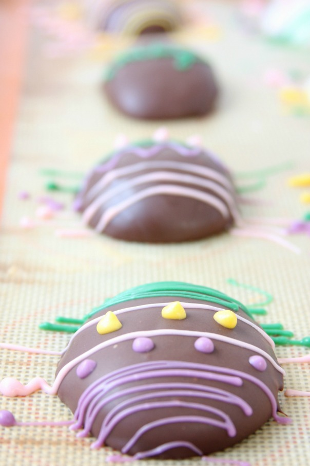 Easter Egg Truffles | Cookie Dough