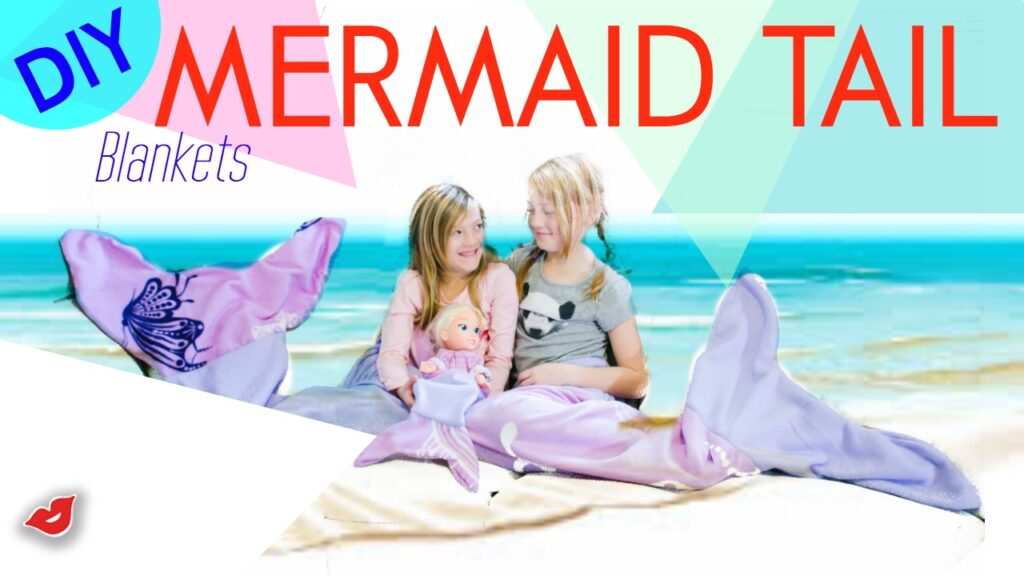 fleece mermaid tail | DIY