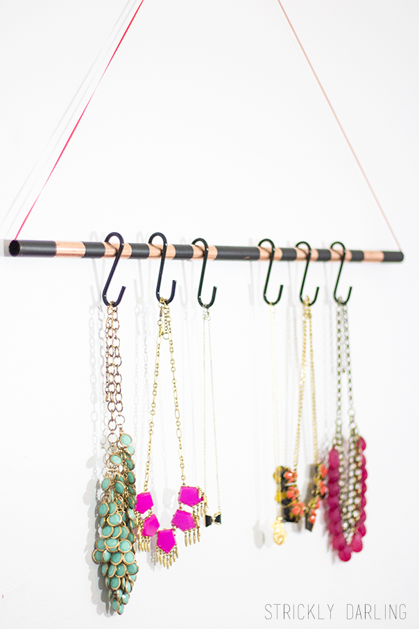Necklace Wall Organizer