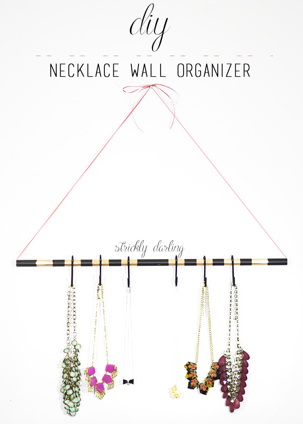 necklace wall organizer