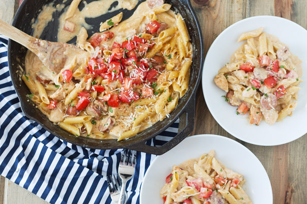 Cajun Chicken Alfredo | Recipe