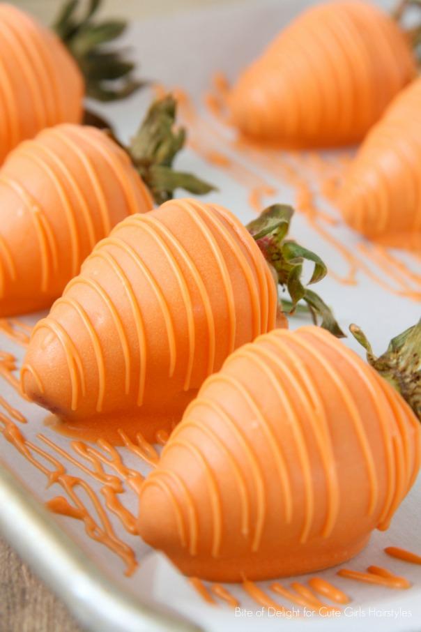 Carrot Dessert Pots