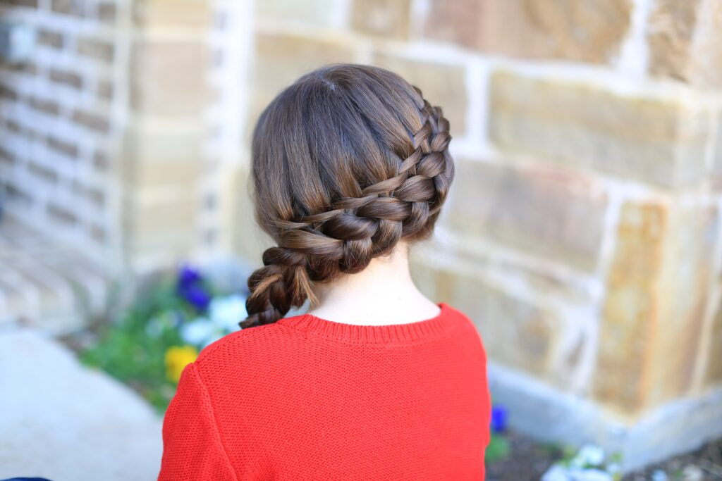Waterfall Twist | Dutch braid combo