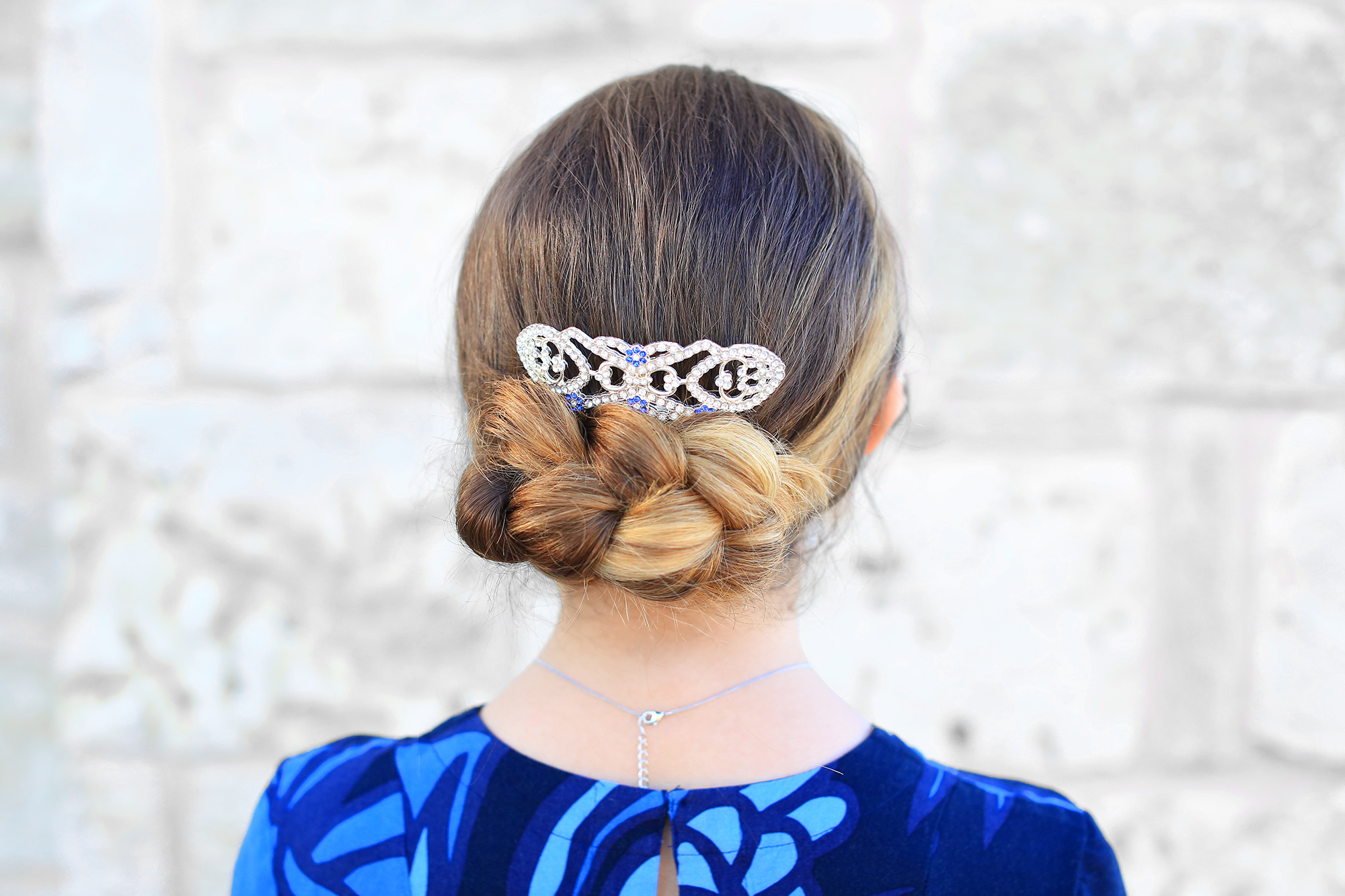 The Flipped Braid Updo