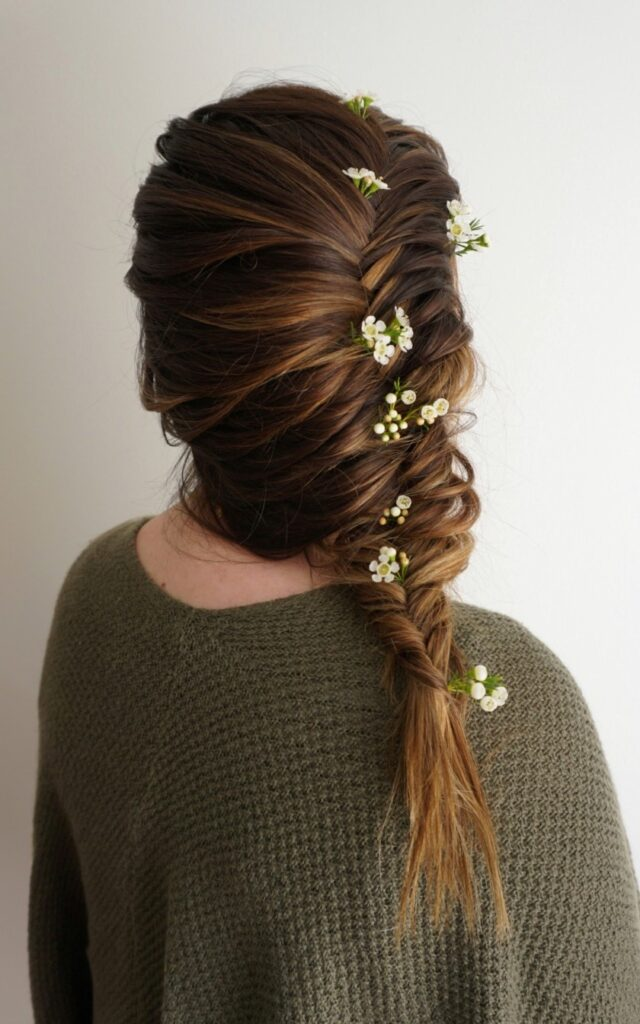 Flowers for Hair | Fishtail