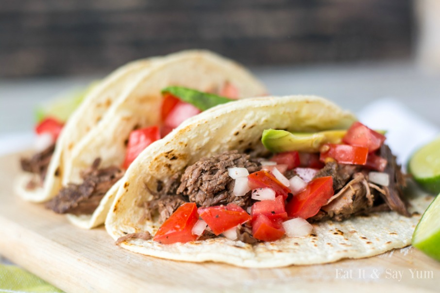 Slow Cooker Beef Tacos | CGH Lifestyle