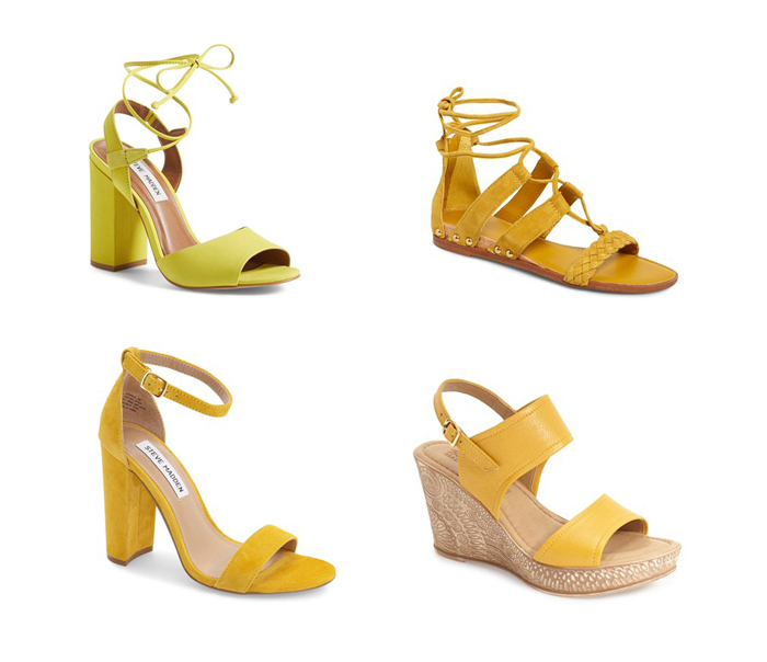Summer Sandals | Yellow