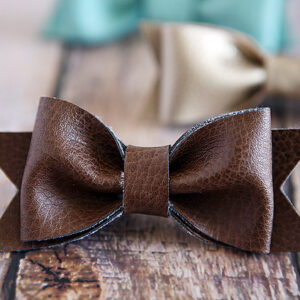 DIY Hair Bow | Leather | Fashion