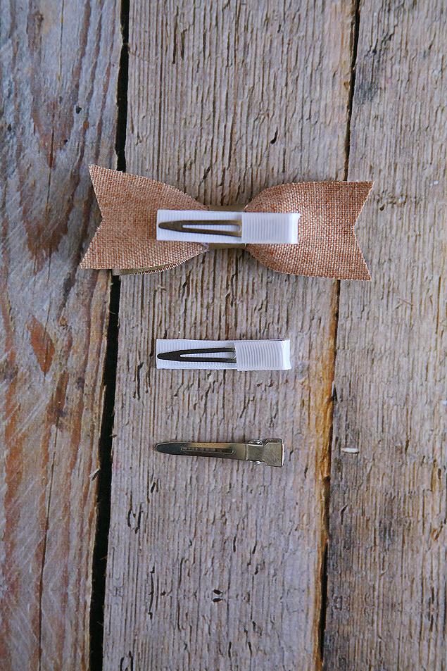 DIY Leather Hair Bows   DIY and Craft Ideas