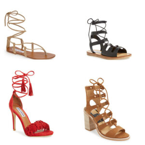 Summer Sandals | Lace ups
