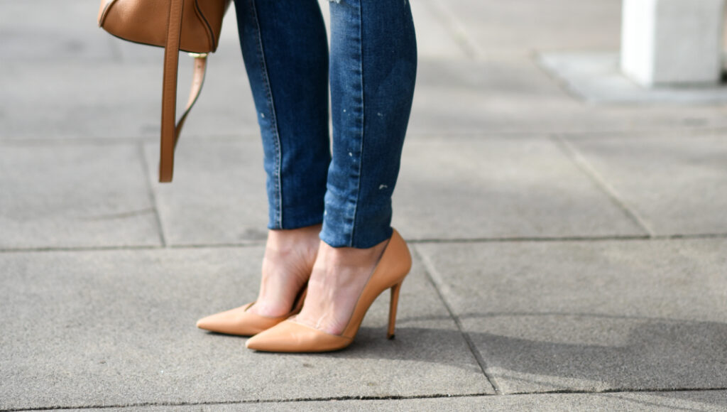 Summer Pumps | Nude