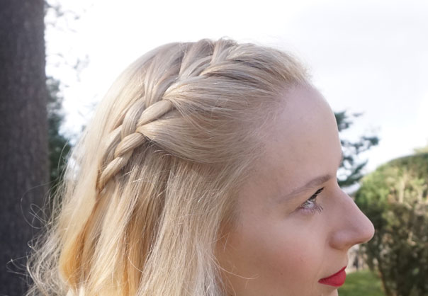 French Braided Bangs | CGH Lifestyle