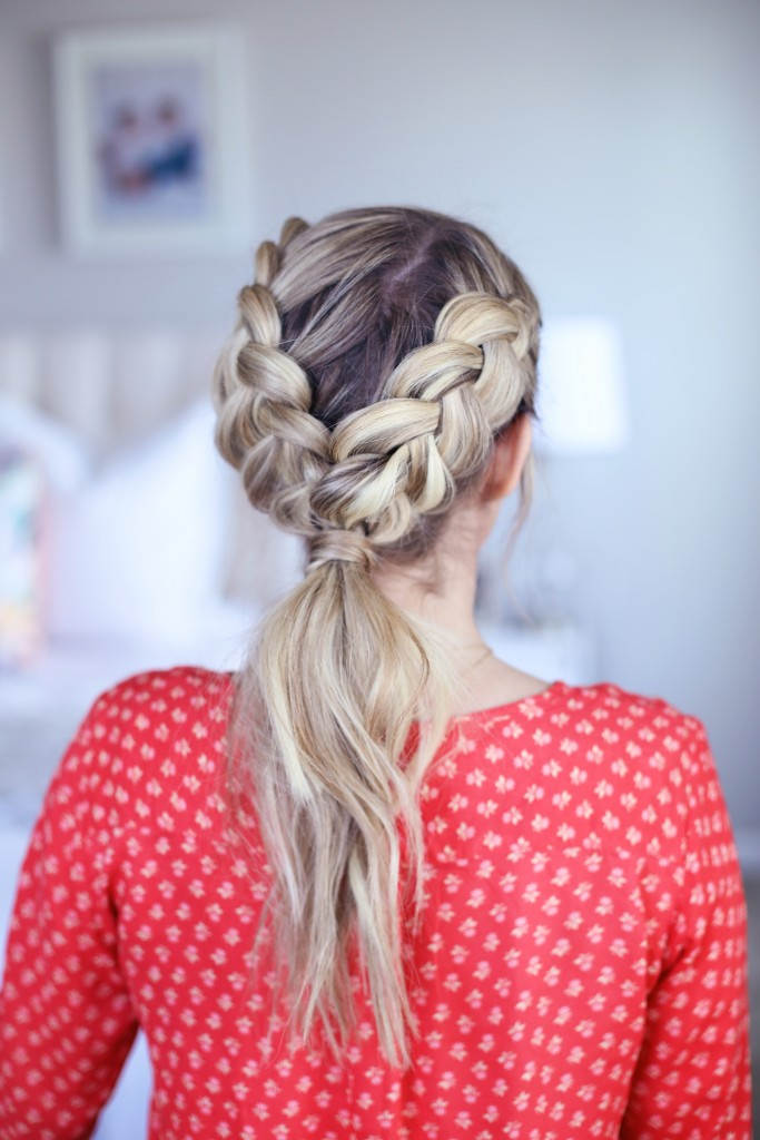 Double Dutch Ponytail   Cute Girls Hairstyles