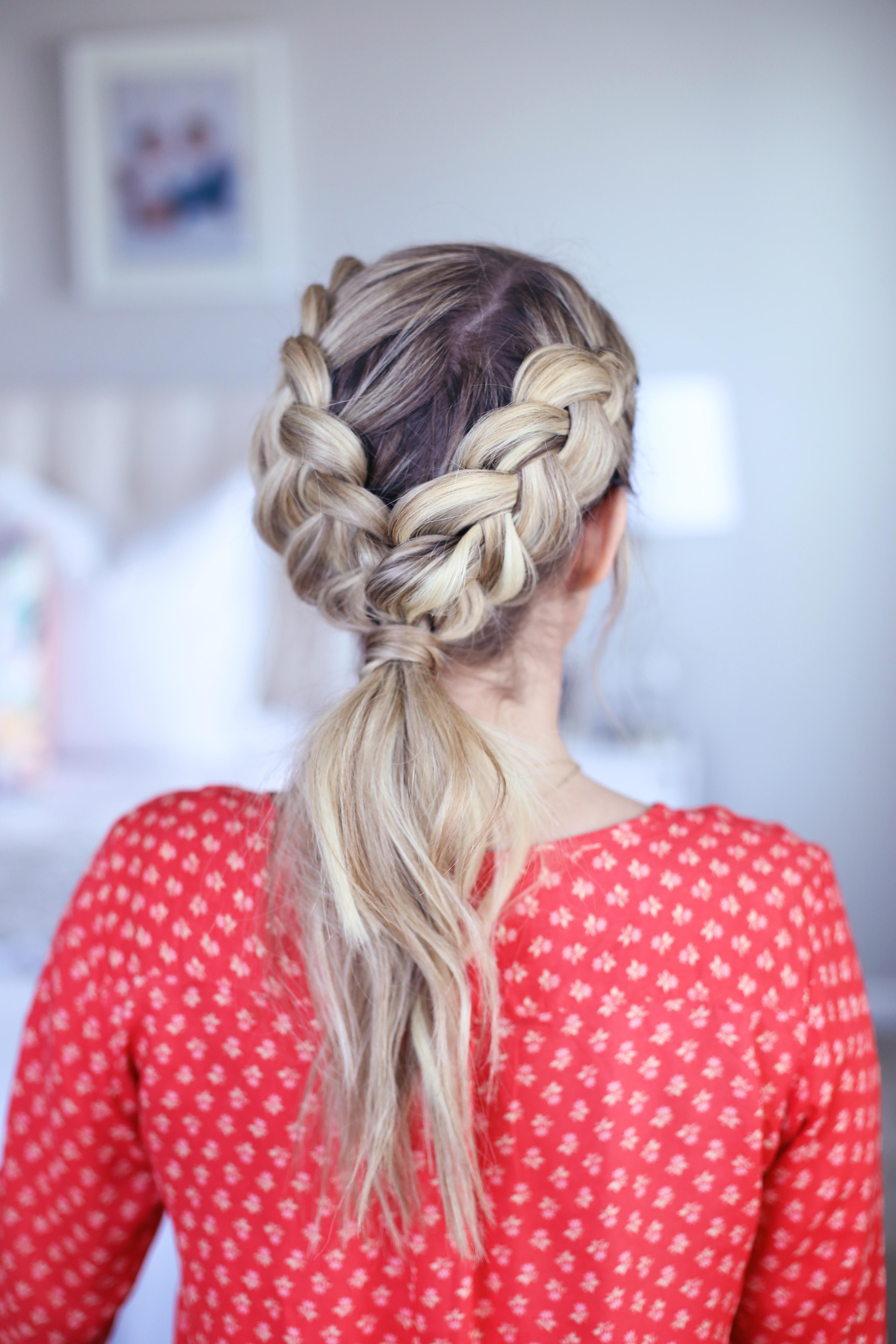 3-in-1 Double Dutch Braids - Cute Girls Hairstyles