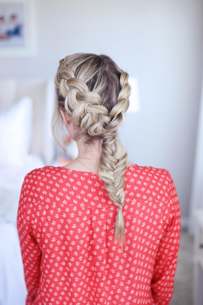 Double Dutch Fishtail   Cute Girls Hairstyles