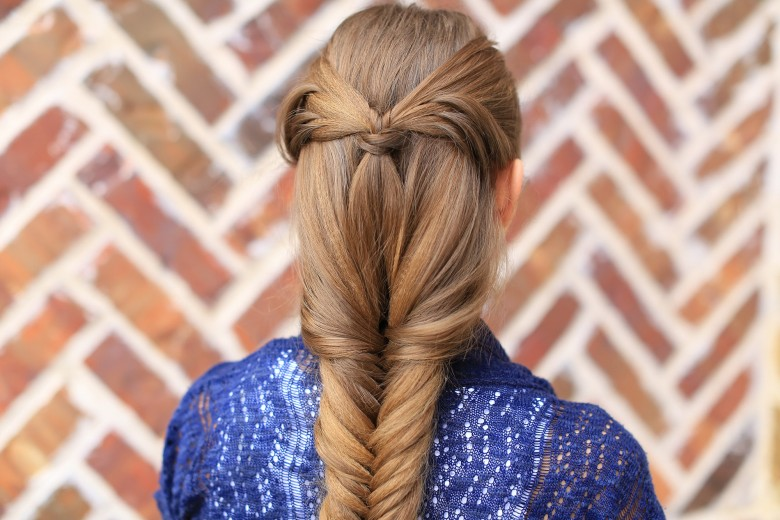 Angel Wing Combo Hairstyle