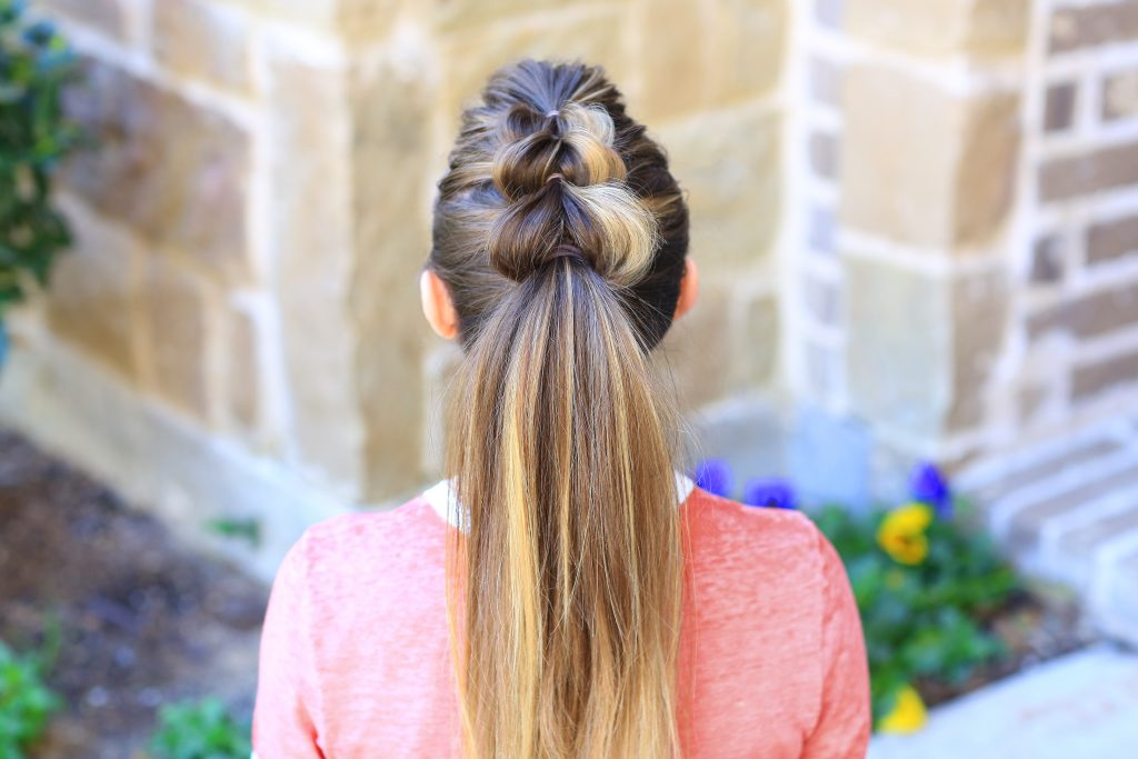 Pull-Thru Ponytail | Cute Girls Hairstyles