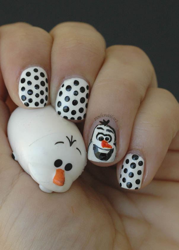 Disney Nails | Olaf