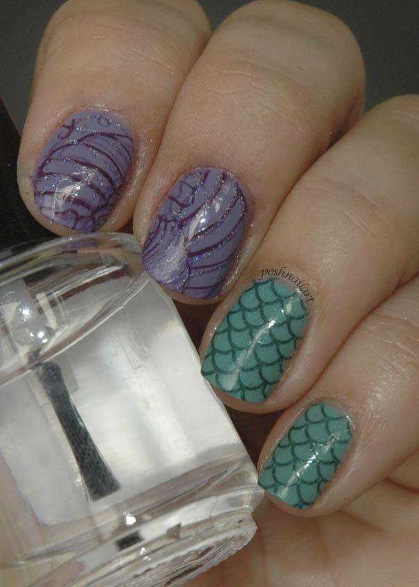 Disney Nails   Little Mermaid