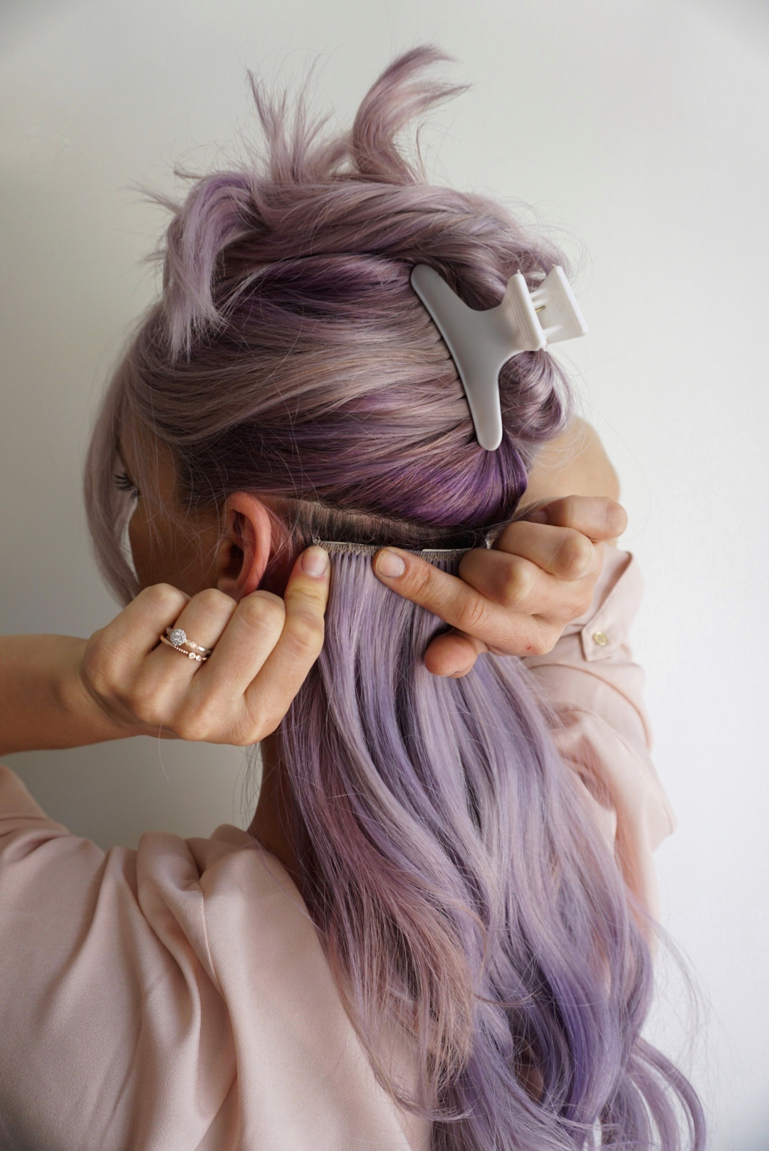 Tips For Applying Clip In Hair Extensions   Cute Girls ...