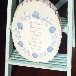 Mothers Day Garden Quote gift idea DIY