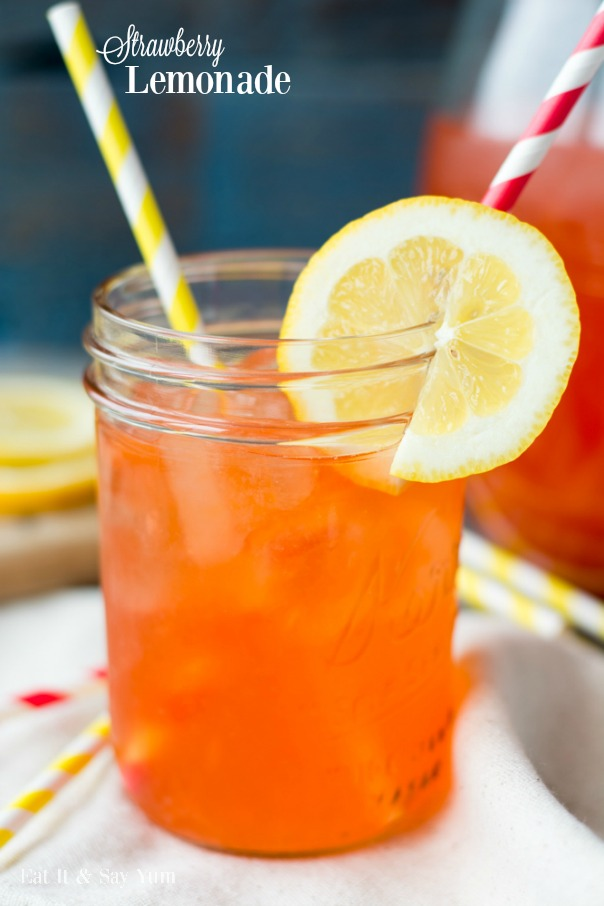 Strawberry Lemonade | CGH Lifestyle