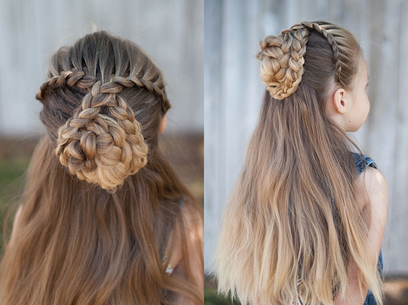 Half up Braid | CGH Lifestyle