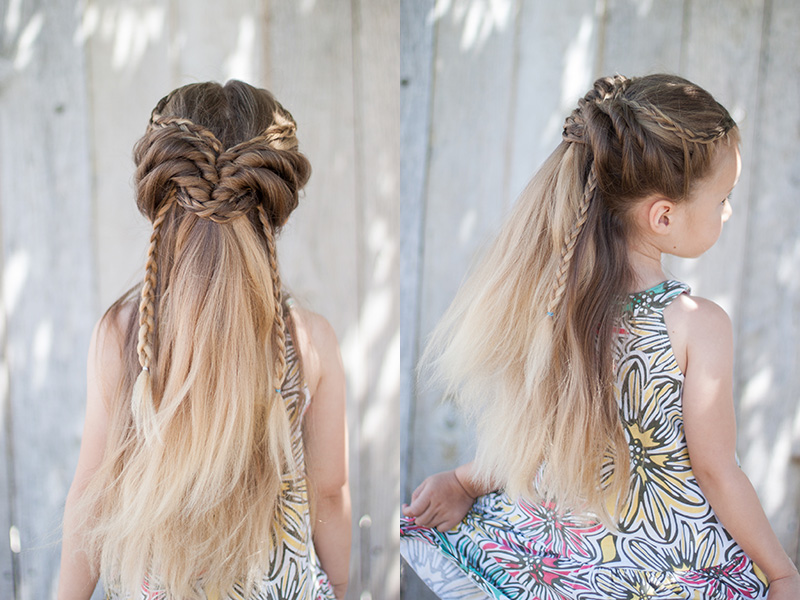 Half up Hairstyles | CGH Lifestyle