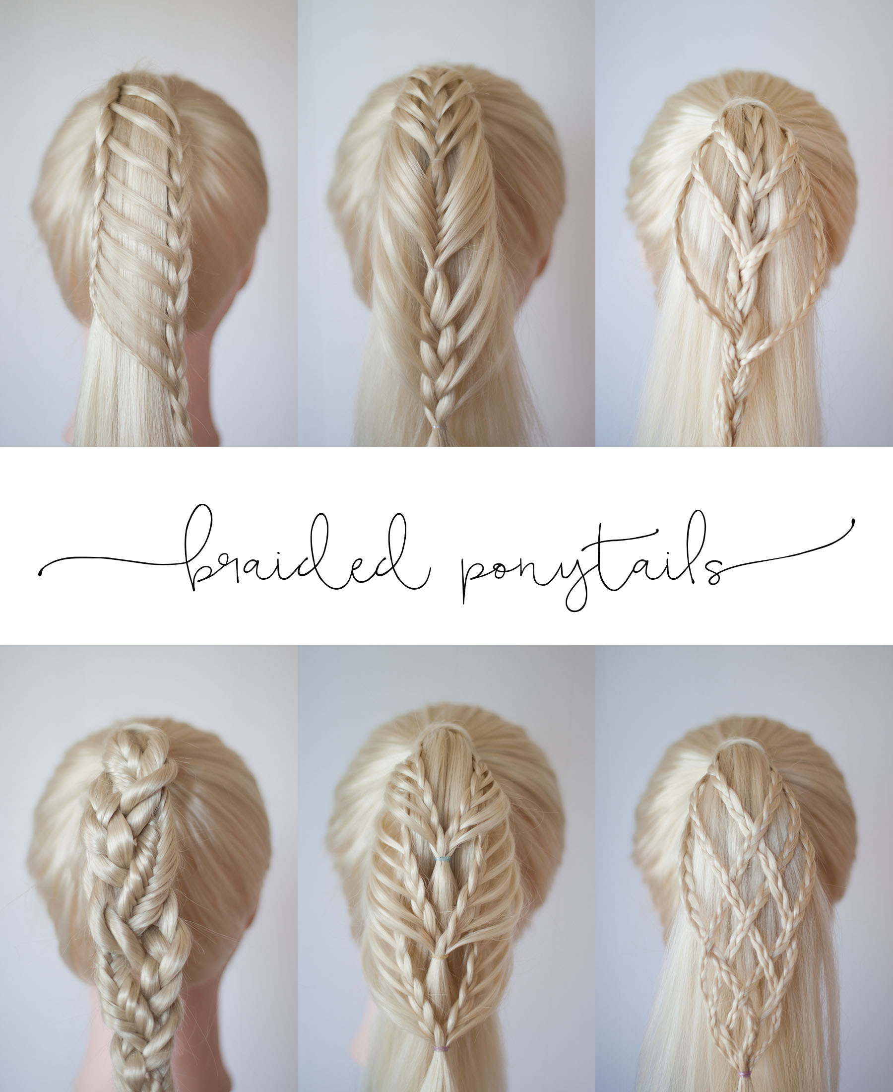 Swell Braided Ponytails Cute Girls Hairstyles Natural Hairstyles Runnerswayorg