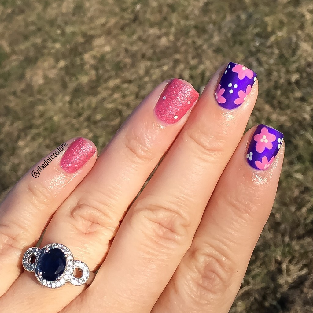Spring Floral Nail Art | CGH Lifestyle