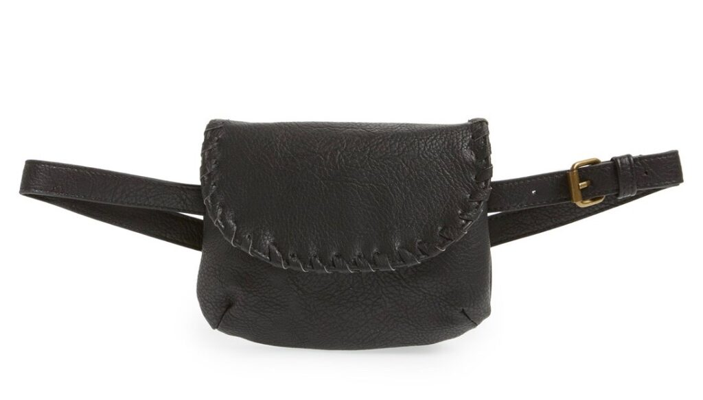 Black belt bag | CGH Lifestyle