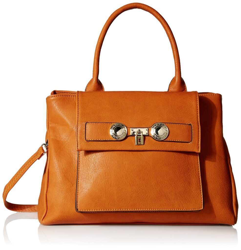 Brown Structured Tote | CGH Lifestyle