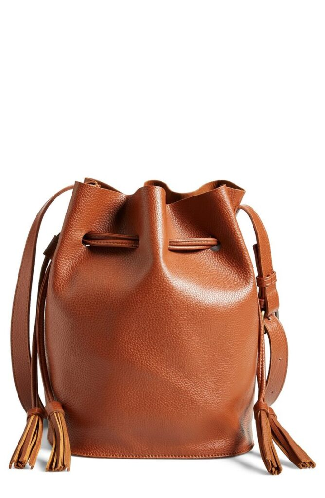 Leather Bucket Bag | CGH Lifestyle