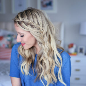 Cascading Waterfall | Cute Girls Hairstyles
