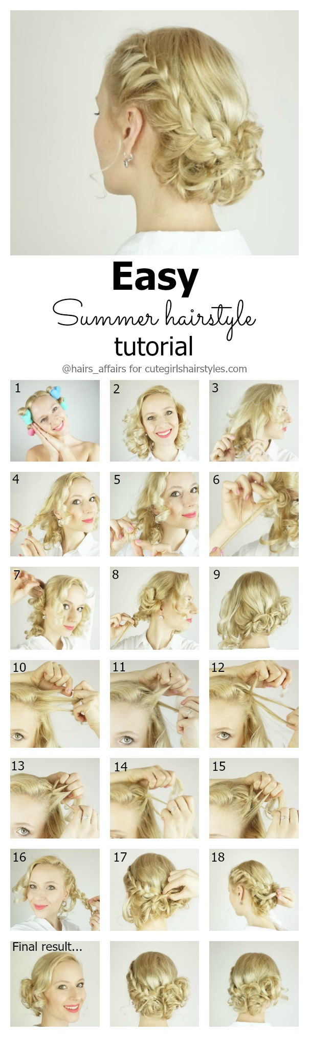 Summer Hairstyle Tutorial Summer Haircare Tips Cute Girls Hairstyles