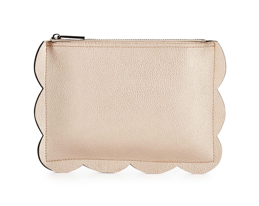 Rose Gold Clutch | Scallop | CGH Lifestyle
