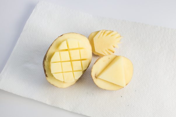 DIY Fruit Potato Stamps | CGH Lifestyle