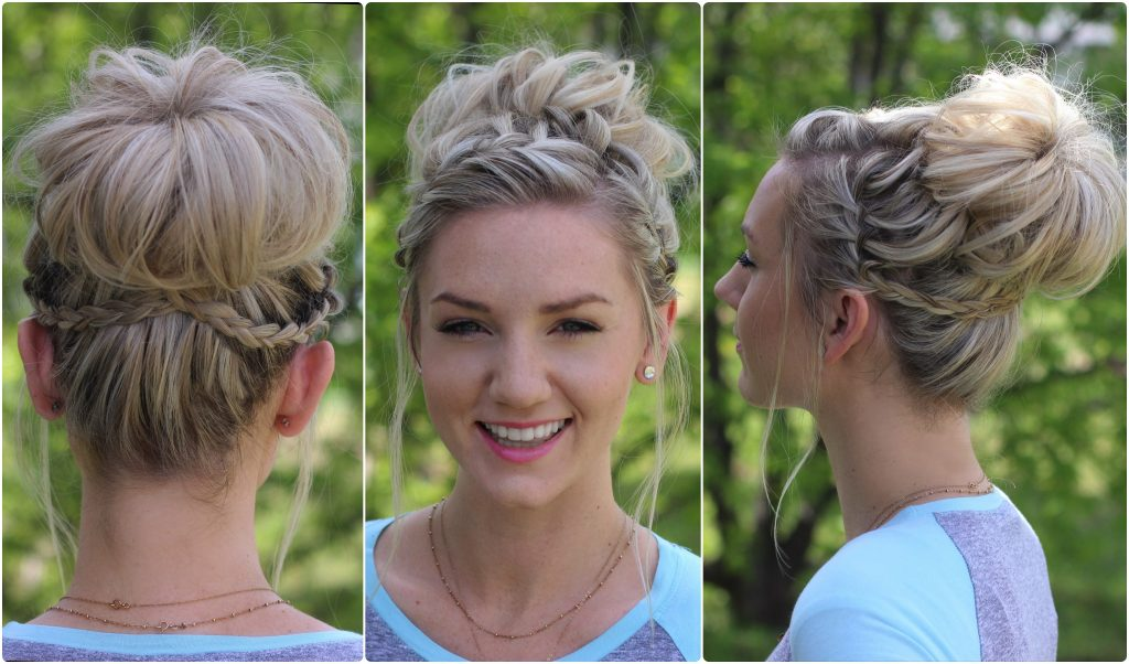 Waterfall Bun | Cute Girls Hairstyles